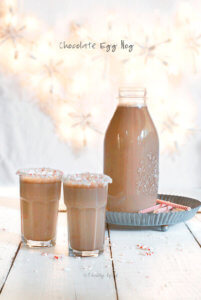 Chocolate Egg Nog by FamilySpice.com