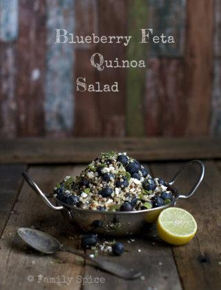 Eating Fresh: Blueberry Feta Quinoa Salad