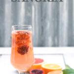 Pinterest image for citrus white sangria by FamilySpice.com