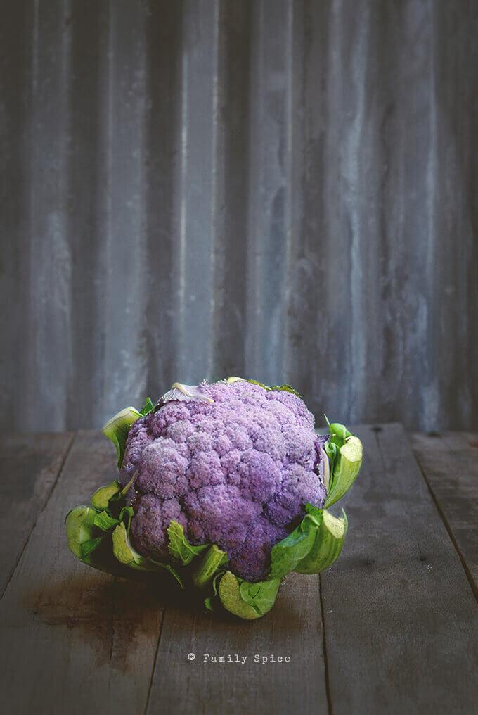 Purple Cauliflower by FamilySpice.com