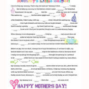 Mother's Day Mad Libs: Mommy's Little Helper by FamilySpice.com
