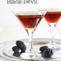 Blackberry Black Devil with Olive Oil