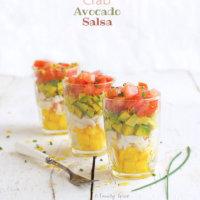 Peach, Crab and Avocado Salsa by FamilySpice.com