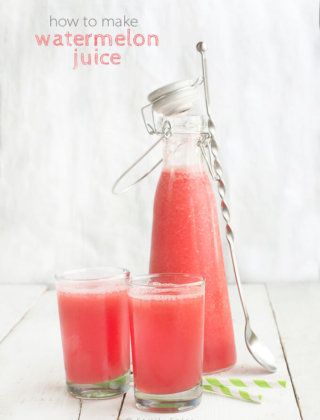 How to Make Watermelon Juice by FamilySpice.com