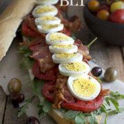 The Egg BLT by FamilySpice.com