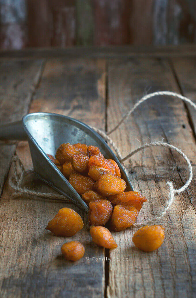 Dried Yellow Plums by FamilySpice.com