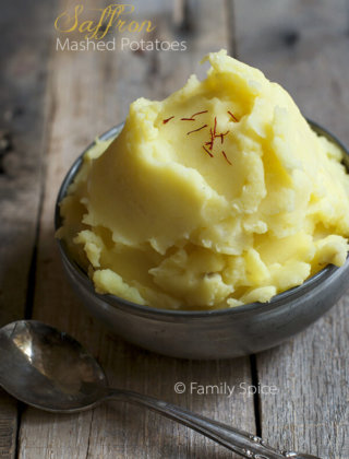 Saffron Mashed Potatoes {Giveaway}