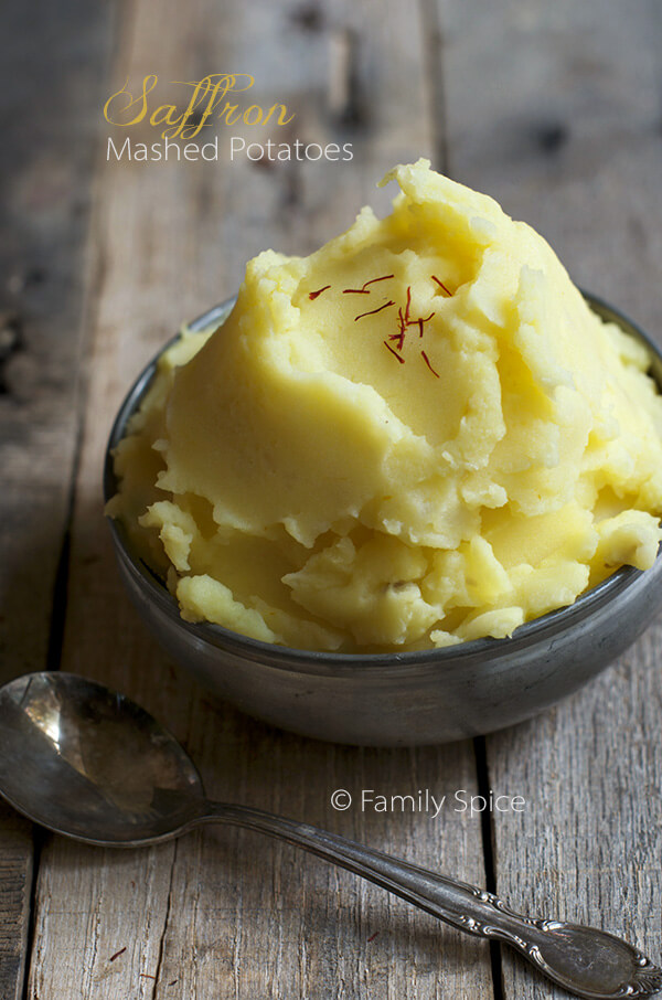 Saffron Mashed Potatoes