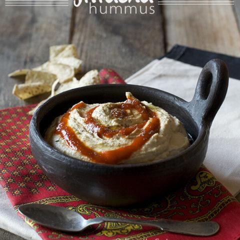 Sriracha Hummus by FamilySpice.com