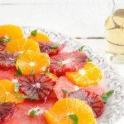 Pinterest image for citrus salad