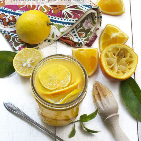 Persian Sour Orange Syrup (Sharbat-e Porteghal) by FamilySpice.com