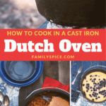 Pinterest image for Dutch oven cooking