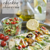 The California Grilled Chicken Shawarma Kabob