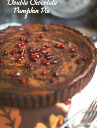 Double Chocolate Pumpkin Pie for Your Holiday Table {Video}