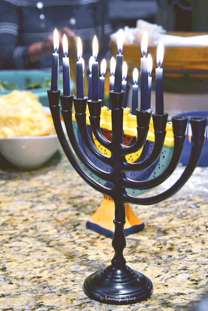 Menorah by FamilySpice.com