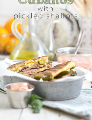 Cubano Sandwiches with Pickled Shallots