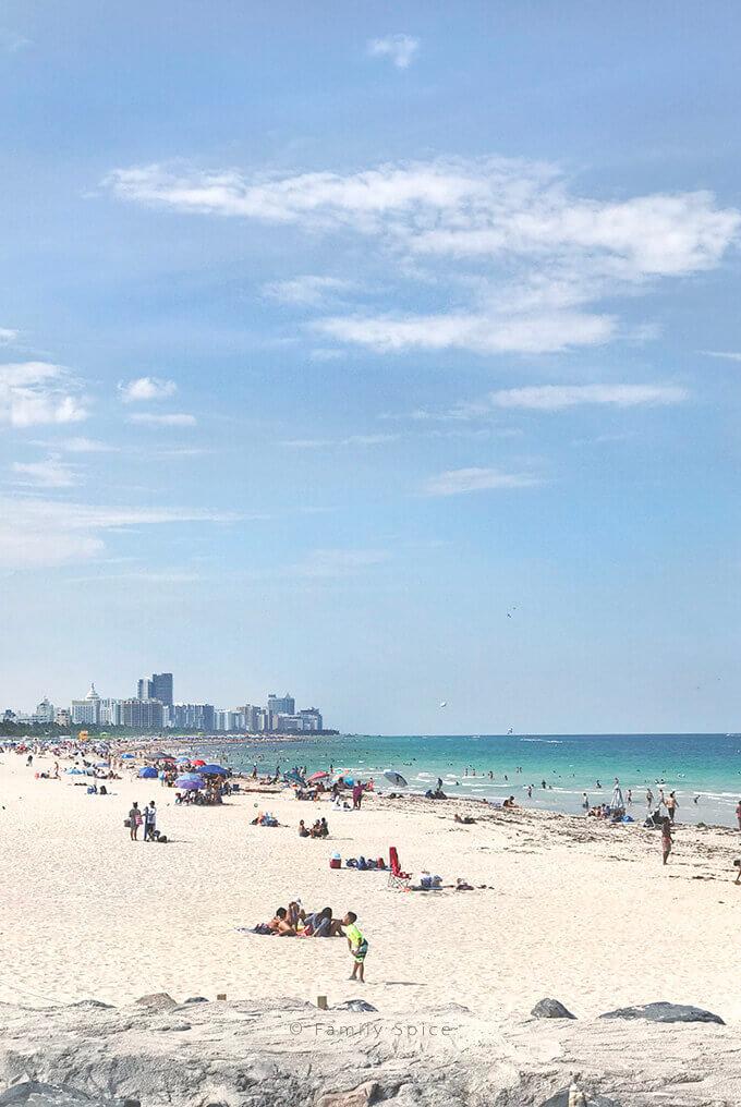 South Miami Beach Coastline by FamilySpice.com