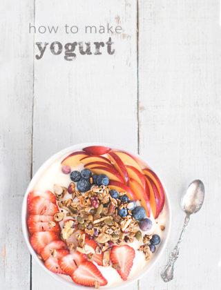 How to Make Yogurt – For Norouz  {Video}