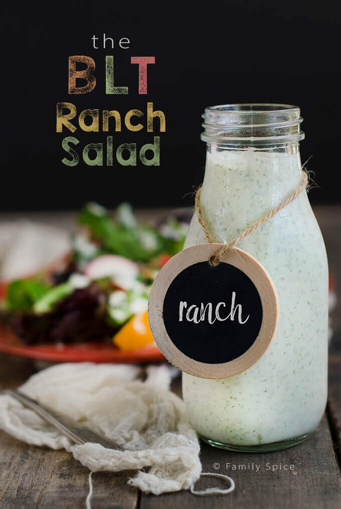 The BLT Ranch Salad with Quinoa
