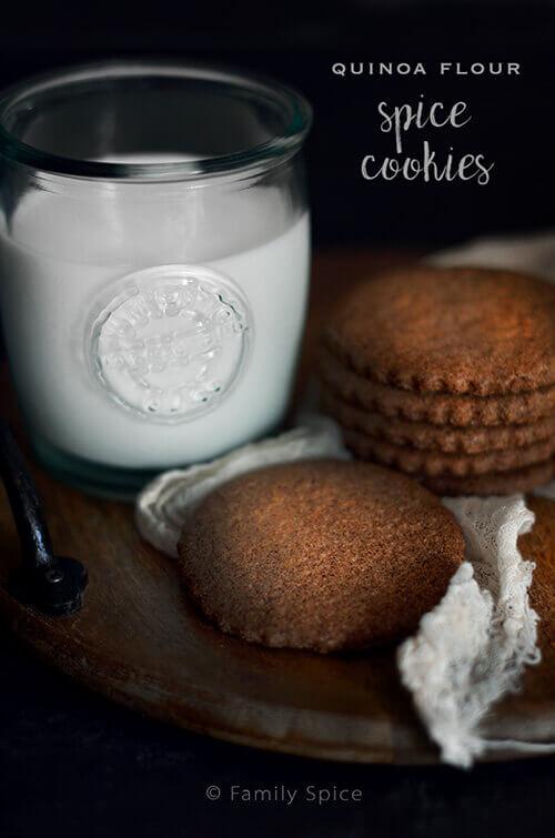 Quinoa Flour Spice Cookies