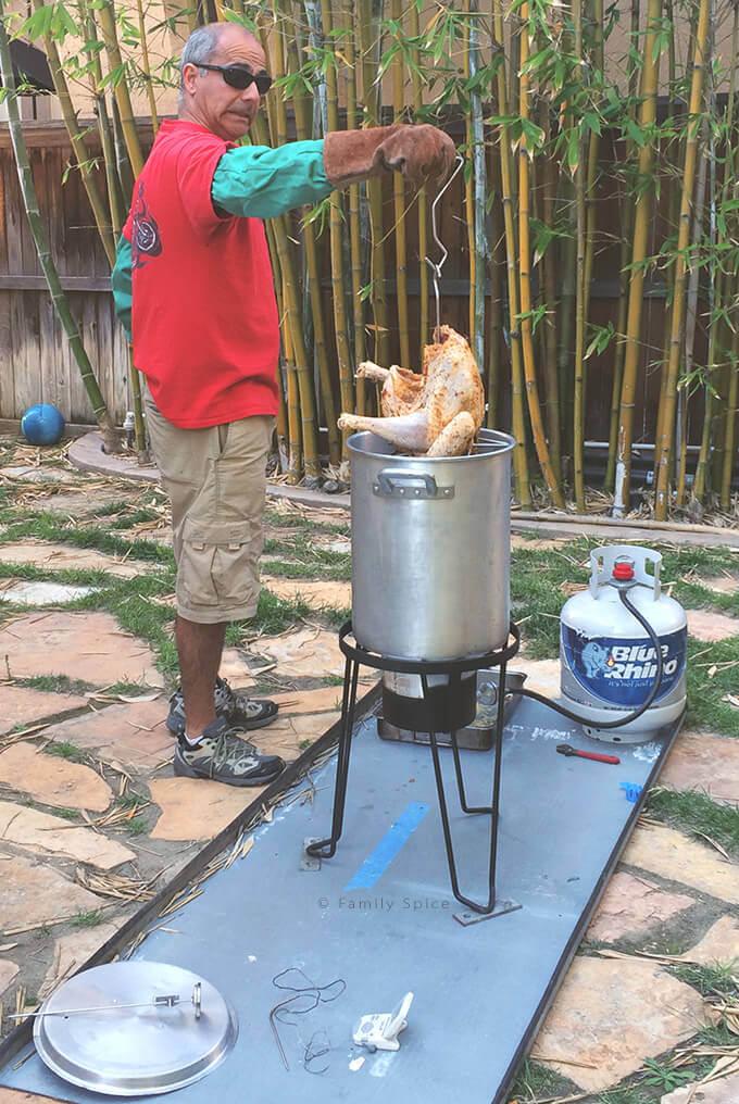 Ready to Deep Fry a Turkey by FamilySpice.com
