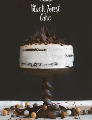 Raisin Black Forest Cake by FamilySpice.com