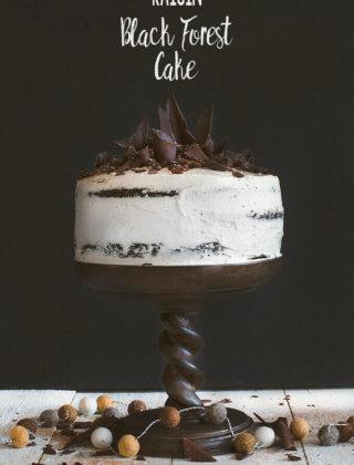 Raisin Black Forest Cake by FamilySpice.com