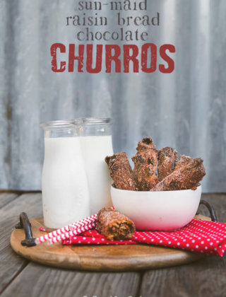 Chocolate Raisin Churros