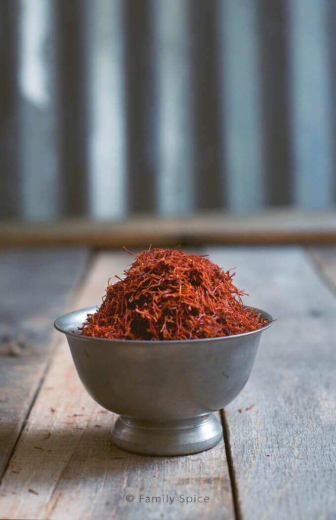 Persian saffron by FamilySpice.com