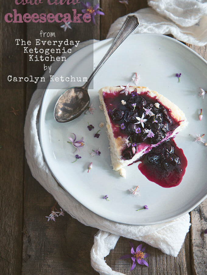 Low Carb Cheesecake from The Everyday Ketogenic Kitchen Cookbook {Giveaway} on FamilySpice.com