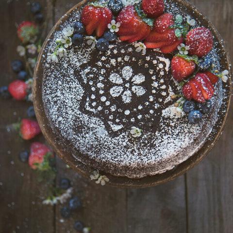 The Hamilton Cookbook Gingerbread Cake