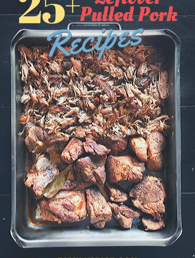 Leftover pulled pork recipes by familySpice.com