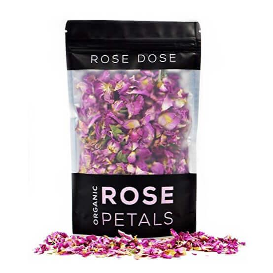 Organic Rose Petals Culinary Grade