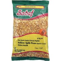 Sadaf Yellow Split Peas 24 Oz. (Quick Cook)