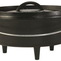 4-quart 10-inch Cast Iron Dutch Oven