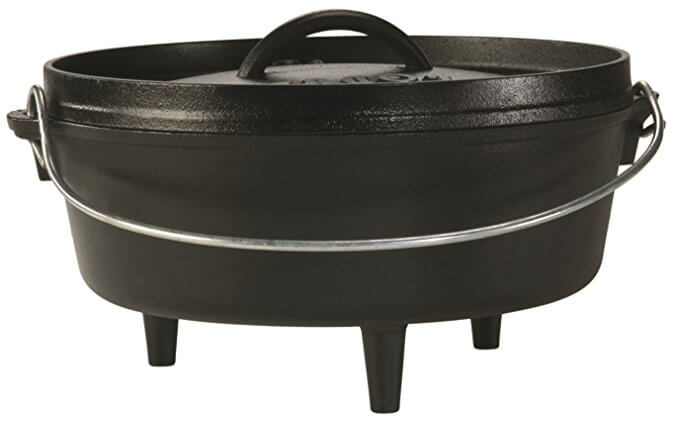 10-inch 4-Quart Cast Iron Dutch Oven