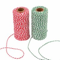 Red and White Cotton Bakers Twine