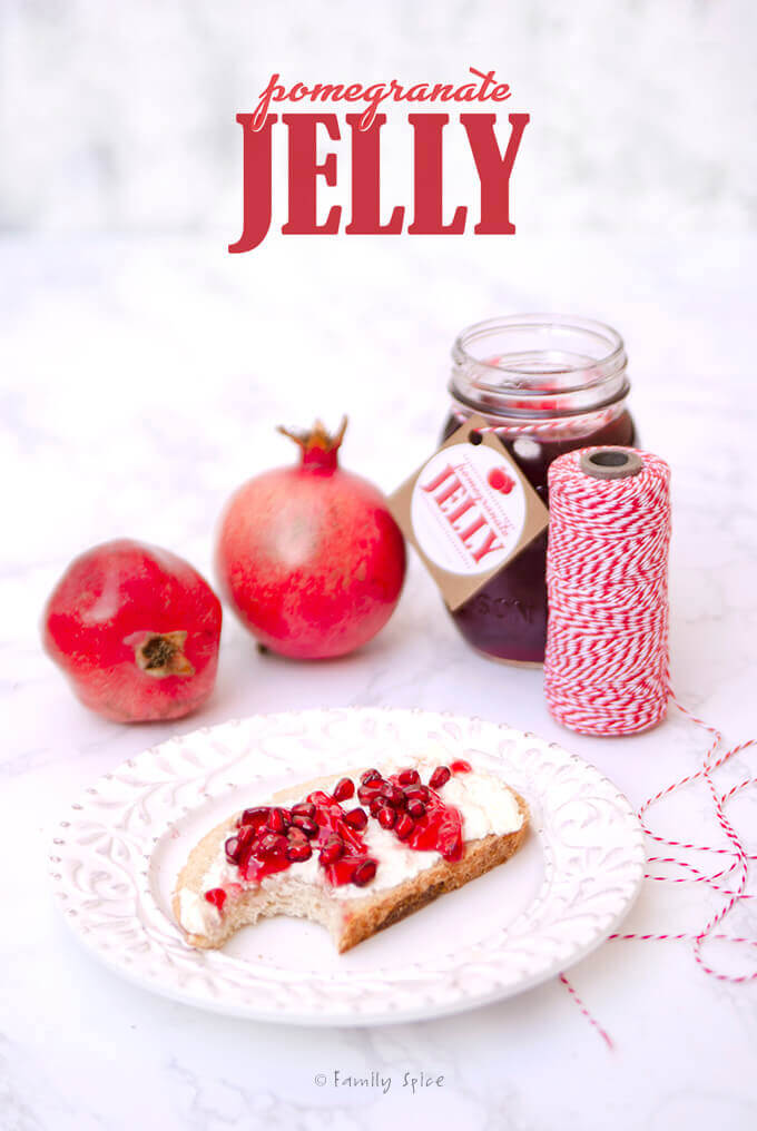 Pomegranate Jelly | Free Printable