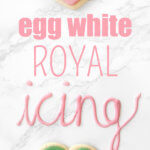 How to make egg white royal icing by FamilySpice.com