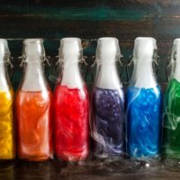 How To Make Flavored Shimmery Liqueur at home (Rainbow colors + VIDEO + ORIGINAL RECIPE!)