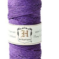 Dark Purple Hemp Cord