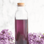 pinterest image for lilac simple syrup by FamilySpice.com