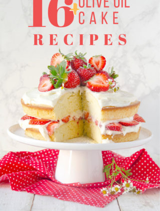 Over 12 olive oil cake recipes by FamilySpice.com