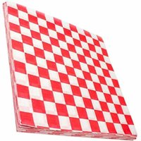 Red and White Deli Paper