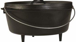 Lodge 8-Quart 12-inch Cast Iron Dutch Oven