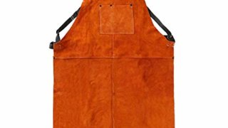 Leather Heat Resistant Apron