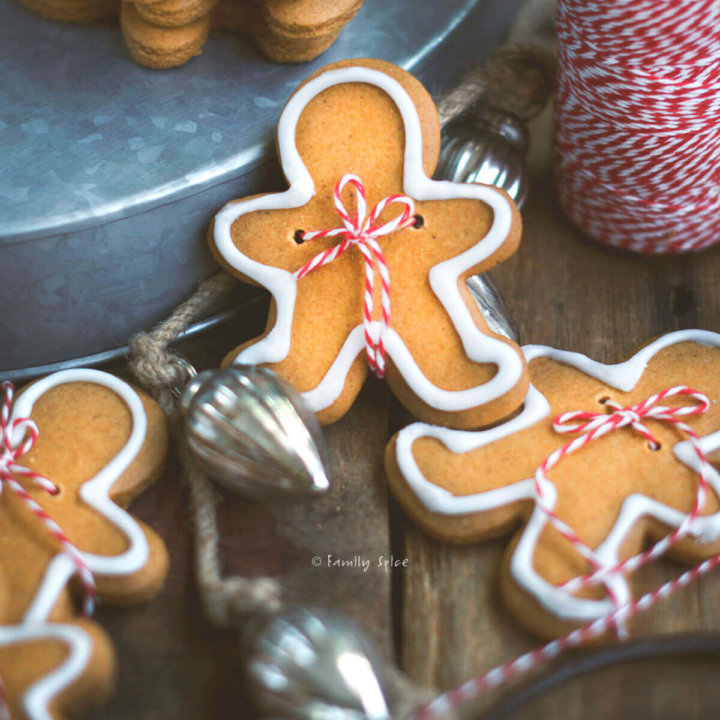 Gingerbread Olive Oil Cookies