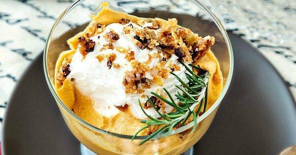 Caramel Pumpkin Mousse