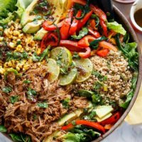 Chipotle Lime Carnitas Salad