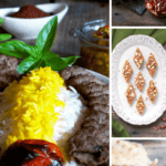 A collage of Persian recipes by FamilySpice.com